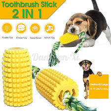 Pet Dog Chew Toy Chewing Corn Rope Molar Bite Stick Resistant Dog Tooth Cleaning