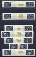 40407) Australia 1997 MNH Nocturnal Animals 14v S-A With Different Labels