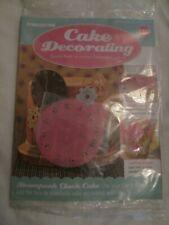 Deagostini Cake Decorating Magazine ISSUE 139 WITH CLOCK STENCIL