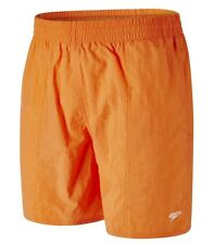 New Men's Speedo Swim Beach Swim Swimming Board Shorts Summer Holidays - Orange