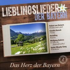 LIEBLINGSLIEDER DER BAYERN - DAS HERZ DER BAYERN (SPIDER MURPHY GANG/+) 2CD NEU