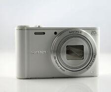 Sony DSC-WX350 Digitalkamera (18 Megapixel, 3 Zoll LCD-Display, NFC, WiFi) weiß