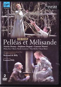 DEBUSSY Pelleas et Melisande.2DVD.