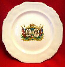 King George VI & Queen Elizabeth I 1937 Coronation Collector Plate msc15