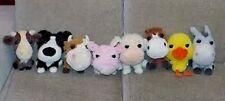Lotto Peluche Amici della fattoria 8 pupazzi originali animal plush soft toys