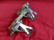 Vintage Campagnolo Pedals Feet Straps And Christophe Toe clips