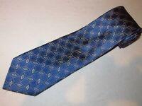 New Jos A Bank Tie Blue Diamond Woven Luxury Designer Jacquard Necktie Silk Mens