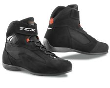 SCARPE BOOTS SHOES STIVALI MOTO TCX PULSE PELLE LEATHER NERO TG 44