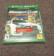 Midnight Club Los Angeles Complete Edition (Xbox One, Xbox 360) Xbox One (NEW!)