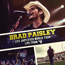 BRAD PAISLEY New Sealed 2017 WEST VIRGINIA HOMECOMING LIVE CONCERT DVD