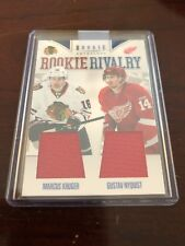 11/12 Panini Rookie Anthology Rookie Rivalry Kruger/Nyquist #7 Hockey Card