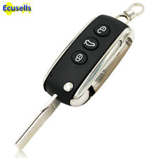 Best Quality Flip Remote Key Shell Fob 3 Button for Bentley Continental Mulsanne