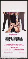 Brunette Curvy Cerca Gifted Film Cinema Movie Sexy Femi Benussi 1973