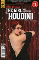 MINKY WOODCOCK : THE GIRL WHO HANDCUFFED HOUDINI ISSUE 1 - PHOTO VARIANT COVER D