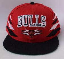 NBA CHICAGO BULLS Mitchell & Ness Adjustable Snapback 100% WOOL Baseball Cap Hat