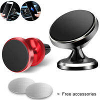 360° Magnetic Car Holder Air Vent Mount Phone Stand For Universal iPhone HUAWEI