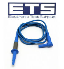 Ideal Industries 600V 10A Voltage Probe Test Lead Blue 48""