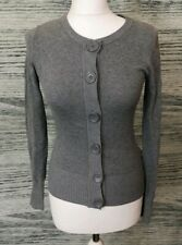 H&M Grey Button Down Cardigan Size XS 6