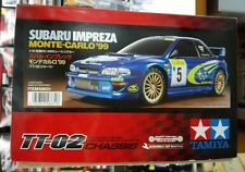 Tamiya # 58631 1/10 RC Subaru Impreza - TT-02 Monte-Carlo '99  NEW IN BOX