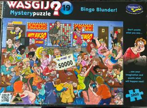 WASGIJ Mystery Puzzle 19 Bingo Blunder!