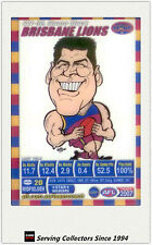 2007 AFL Teamcoach Trading Card Star Wild SW2 Simon Black (Brisbane)