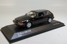 Volvo 480 ES Sports Wagon 1986 Black 1:43 Minichamps 400171520