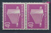 Berlin (West) 122 senkrechtes Paar postfrisch 1954 Berliner Bauten (7530004