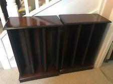 2 X Mahogany CD Cabinets