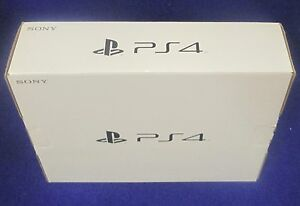 PLAYSTATION 4 PS4 SLIM EMPTY RETAIL BOX ONLY - NO CONSOLE, EMPTY BOX ONLY!