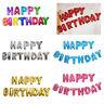 "13 Pcs/Set 16"" ""HAPPY BIRTHDAY"" Letters Foil Balloons Happy Birthday Party Decor"