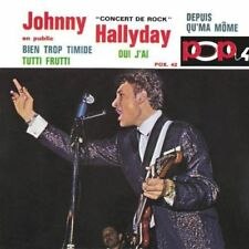 CD de musique pop rock Johnny Hallyday