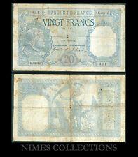 BILLET DE 20 FRANCS BAYARD  DATE 28-12-1917 ETAT:  Pr TB   N° K.3646