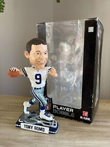 "TONY ROMO Dallas Cowboys NFL ""Helmet Base"" Rookie EXCLUSIVE Bobblehead NIB!"