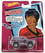 Hot Wheels Star Trek 2013 Lt. Uhura 1988 Jeep Wagoneer Real Riders 1023T