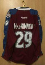 NHL COLORADO AVALANCHE USA *BNWT* ICE HOCKEY JERSEY PLAYER ISSUE MACKINNON #29