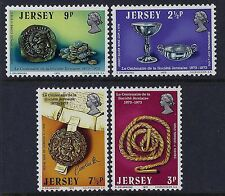 1973 JERSEY LE SOCIETE JERSIAISE CENTENARY SET OF 4 FINE MINT MNH