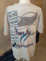 1995 Rare Tampa Bay Devil Ray Vintage Baseball Shirt