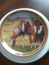Horse Plate, Painted Heights, On The Range