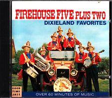 FIREHOUSE FIVE PLUS TWO- Dixieland Favourites- 1991CD- Dick Roberts/Frank Thomas