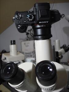 Nikon SMZ-2T Microscope camera kit W 42mm 2 Sony NEX  Apophot Opti labo Alpha Ec