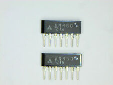 "AN360  ""Original"" Panasonic (Matsushita)  7P SIP IC  2  pcs"