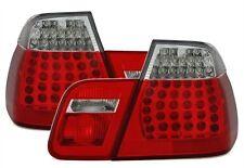 FEUX ARRIERE LED BLANC ROUGE CRISTAL BMW SERIE 3 E46 1998-2001 330Xd 325Xi 320d