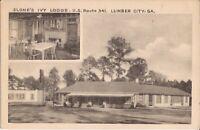 Lumber City, GEORGIA - Slone's Ivy Lodge - 1946 - MULTIVIEW