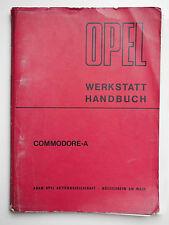 OPEL Werkstatt Handbuch Commodore-A November 1967