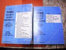 1988 FORD F-150-250-350 SUPER DUTY ECONOLINE BRONCO FACTORY SERVICE MANUALS SHOP