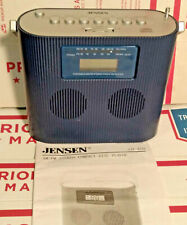 Jensen CD-470 Blue Portable Stereo Compact Disc Player With AM/FM Radio