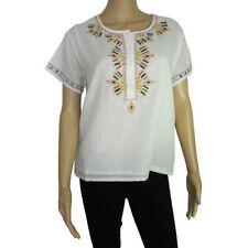 Cotton Short Sleeve Regular Tops & Shirts for Women