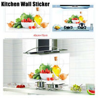 DIY Removable Oil-Proof Kitchen Mural Vinyl Wall Stickers Home Room Decor