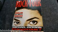 REVISTA MAGAZINE ROCK & FOLK 293 ROLLING STONES MICHAEL JACKSON JOHN LEE HOOKER