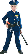 Kids Police Officer Costume Cop Costume Child Size Large 12-14